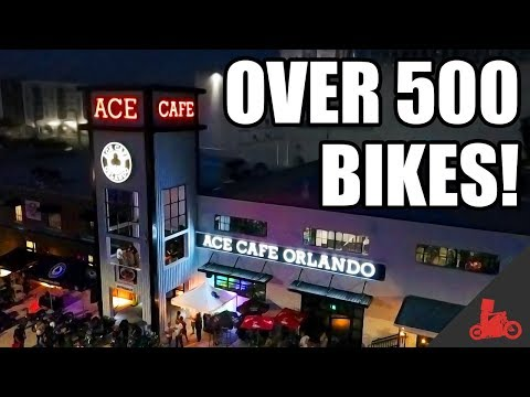 Download Lagu OVER 500 BIKES! Ace Cafe Bike Night! MP3