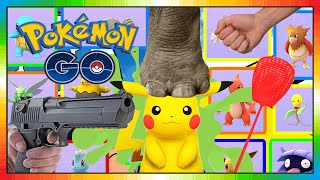 POKEMON GO - Minion the POKEMON Hunter - Video 1 of 2 - choose pokemon - Pokemonauswahl