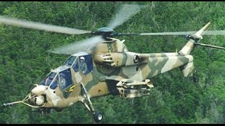 Deadly Fast South African Military Denel Rooivalk Attack Helicopter