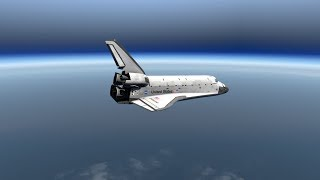 Trying To Land A Space Shuttle Approaching From SPACE - X-Plane 11