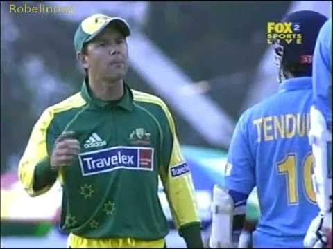 Ugliest incident between Tendulkar and Ponting Sachin recalled to the wicket FURIOUS Ponting