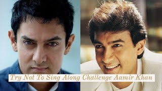 If You Sing Or Dance You Lose Aamir khan Edition | Try Not To Sing Along Challenge Aamir Khan