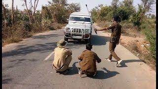 પોલીસે રોકી બાપુ ની ગાડી જુઓ સુ થાય છે/Gujarati Comedy Video