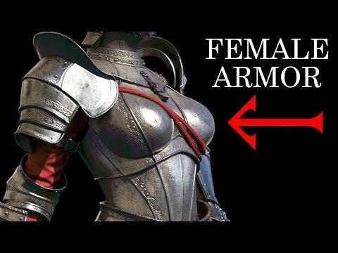 Female armor Fantasy vs Reality