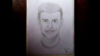 Drawing/Dibujo - Gareth Bale / 2015 HD / Valentina Ortega