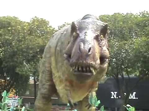 ¡¡Tiranosaurio Rex suelto en el museo ¡T Rex