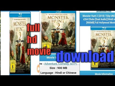 Monster Hunt 2 Hindi Dubbed Movies Trailer 2019 Hd Mp4 3gp Videos