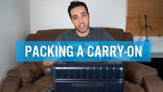 How to Pack the Perfect Carry-On Luggage for Men