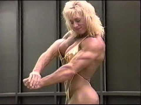 Lora Ottenad scrumptious in gold bikini