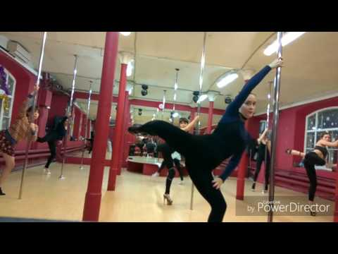 Floor and Flow Choreo - Eotic Pole Dance tutorial (Marsheva)