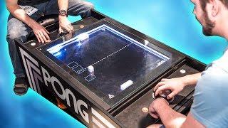The Ultimate Pong 1v1 - Linus vs Luke!