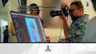 Kate del Castillo se desnuda por una buena causa | Noticias con Francisco Zea