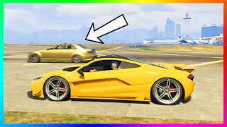 GTA 5 DLC Car Faster Than Best Super Car!? - Progen T20 VS Schafter V12 Speed Test Results! (GTA V)