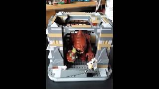 Lego Star Wars Rancor Pit Custom Update