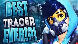 BEST TRACER EVER!?! - Overwatch Gameplay