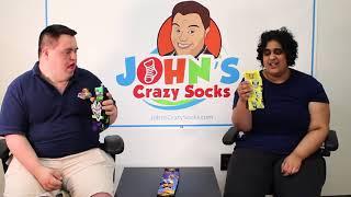 Leah & John have New Socks To Share