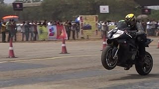 SuperBikes Drag Race in Bangalore | Vroom 2016 | INDIA
