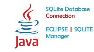 Java SQLite Database Connection using Eclipse || Bangla Tutorial 02