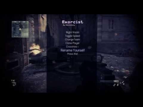MW3 Exorcist Sprx Menu [1.24/CEX/DEX] Download