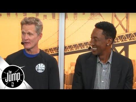 Steve Kerr and Scottie Pippen reminisce on Phil Jackson s unique film session tactics The Jump