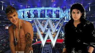Justin Bieber vs Michael Jackson Celebrity Showdown WWE Games