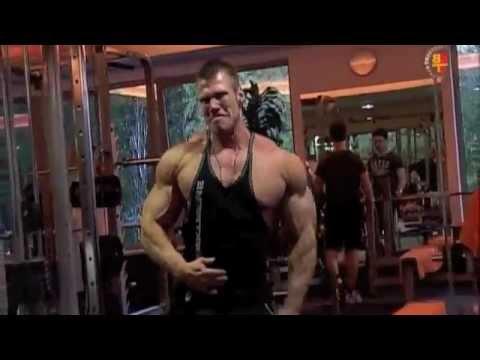 Bodybuilder Peter Molnar Shoulder Workout 2010