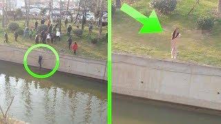 """انظروا ماذا فعلوا مع الرجل بعد انقاذه الفتاة فى الصين """"لحظات لم يصدقها أحد"""""""