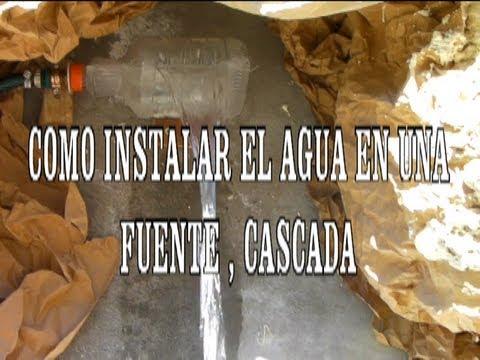 Como instalar agua para una cascada playithub largest for Bomba cascada agua