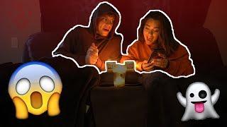HAUNTED OUIJA BOARD W/ ANTHONY TRUJILLO!!! (So scary...)