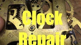$1907 Antique Clock Repair