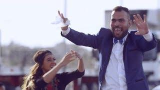 مشهد كوميدي ... سقوط خالد عليش من عربية الفرح  - عوالم خفية