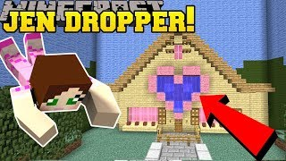 Minecraft: DROPPING INTO JEN