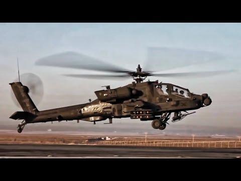 AH-64E Apache Helicopter • Preflight Checks & Takeoff