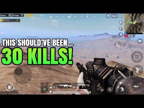 This Should've Been 30 Kills! | FPP Solo VS Squad | PUBG Mobile