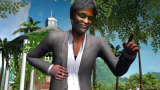 Kabali 3D Tamil Movie - 3D animation - Rajinikanth - Radhika Apte - JN3Design - #KabaliSwag