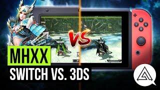 Monster Hunter XX | Nintendo Switch vs. 3DS Gameplay Comparison