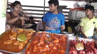 Street Food at Salt Lake Sector V Kolkata | Lots of Food in One Shop | Indian Busy Fast Food Center