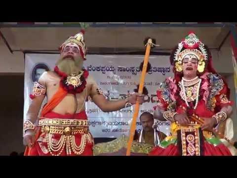 Yakshagana -- Ranga Prasanga -  Abhimanyu kalaga - 2