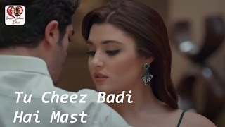Tu Cheez Badi Hai Mast (Remix) | Hayat & Murat | Udit Narayan & Neha kakkar