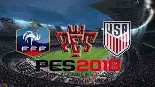 France vs USA International Friendly match HD Pes 2018