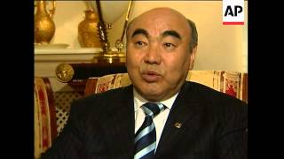 Intv with frm Kyrgyz president, analyst on strategic importance of country