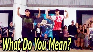 WHAT DO YOU MEAN? - Justin Bieber Dance | @MattSteffanina Choreography (Cover Version)