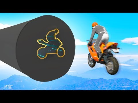 GREATEST Bike Skill Test Challenge EVER MADE! (GTA 5 Funny Moments)