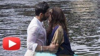 Alia Bhatt & Shahid Kapoor HOT KISS in Shandaar