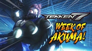 WEEK OF AKUMA! Tekken 7 - Online Ranked Matches