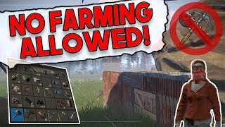 Building A Base WITHOUT Farming?! | Rust SOLO SURVIVAL Gameplay | Terminus - Episode 2