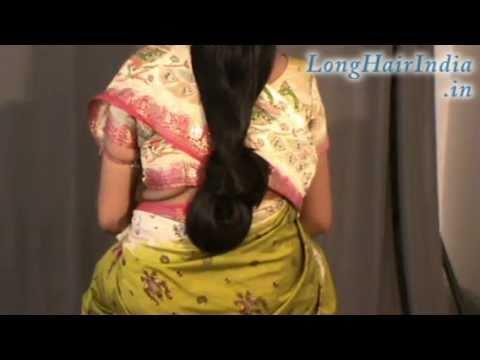 Sheela s Knee Length Silky Hair Part 2