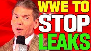 WWE NEWS - WWE Trying To Stop Leaks Within The Company / Ex WWE Wrestler's Son To Debut In Wrestling