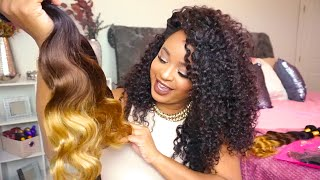 VIP Beauty Hair | Aliexpress | Brazilian Body Wave OMBRE (3 tone hair) | unboxing