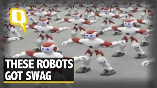 The Quint: 1,000 Dancing Robots in China Flaunt Moves, Set World Record